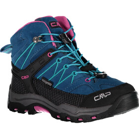 CMP Campagnolo Rigel WP Mid-Cut Trekkingschuhe Kinder deep lake-baltic